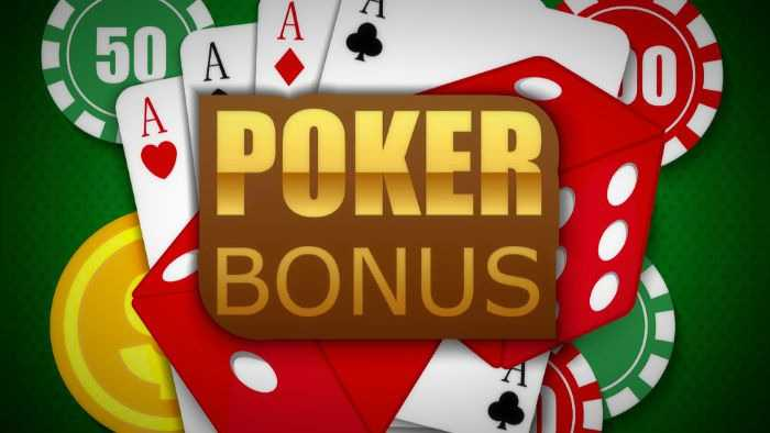 Free Poker Money Bonuses